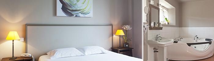 Chambres - Hotel Val de Loire - Hotel Golf Parc Robert Hersant