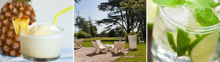 Château hôtel 4 étoiles - Cocktails Espace Lounge - Hôtel & spa du château