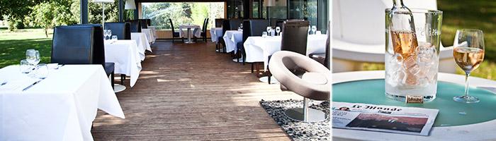Château hôtel 4 étoiles - Espace Lounge La Pergola - Hôtel & spa du château