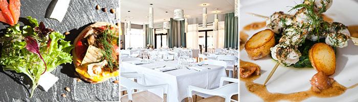 Restaurant gastronomique proche La Rochelle- Le 123 - Hôtel & spa du château