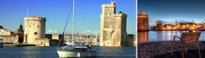 Tourisme Charente Maritime - Le Vieux port de la Rochelle - Hôtel & spa du château