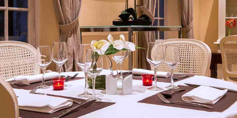 Château Hôtel Golf Pontoise - Ennery - Restaurant - Château de l'Hermitage