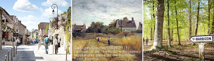 Tourisme en Ile de France - Barbizon - Hôtel 4 étoiles Manoir de Gressy
