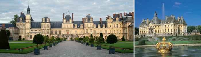 Tourisme en Ile de France - Château de Fontainebleau - Hôtel 4 étoiles Manoir de Gressy