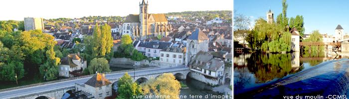 Tourisme en Ile de France - Moret sur Loing - Hôtel 4 étoiles Manoir de Gressy