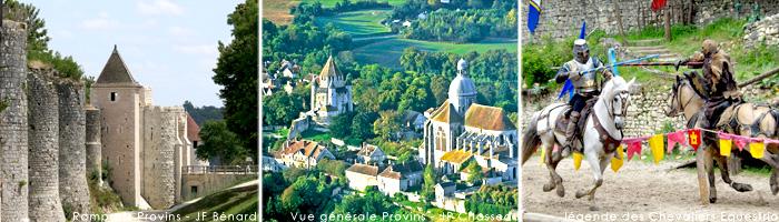 Tourisme en Ile de France - Provins - Hôtel 4 étoiles Manoir de Gressy