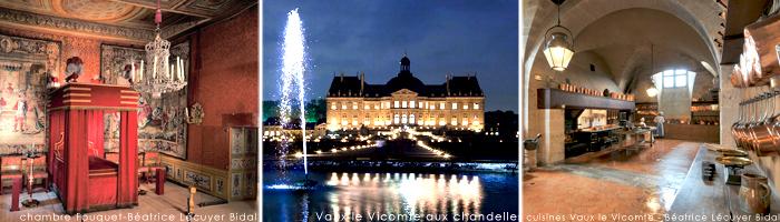 Tourisme en Ile de France - Vaux le Vicomte - Hôtel 4 étoiles Manoir de Gressy