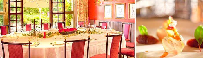 Restaurant gastronomique près de Paris - Hôtel 4 étoiles Manoir de Gressy (77)