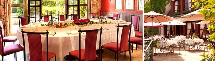 Organisation réceptions banquets - Hôtel 4 étoiles Manoir de Gressy